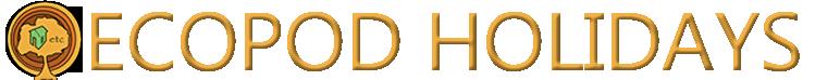 Ecopod Holidays Derbyshire Logo